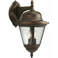 <strong>Progress Lighting</strong> Westport 2 Light Cast Wall Lantern