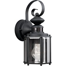 Motion Sensor 1 Light Outdoor Wall Lantern