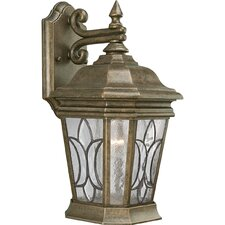 <strong>Progress Lighting</strong> Cranbrook 1 Light Cast Aluminum Outdoor Wall Lantern