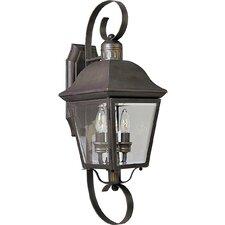 Andover 2 Light Outdoor Wall Lantern