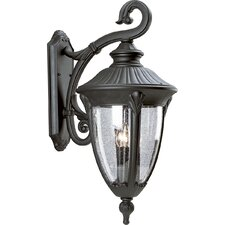 <strong>Progress Lighting</strong> Meridian 3 Light Outdoor Wall Lantern