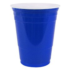 Plastic 16 oz. Party Cold Cups (Set of 50)