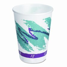 Company Symphony Design Trophy Foam Hot/Cold Cups, 1000/Carton