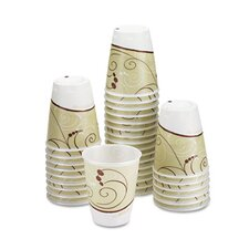 <strong>Solo Cups</strong> Company Symphony Design Trophy Foam Hot/Cold Drink Cups, 900/Carton