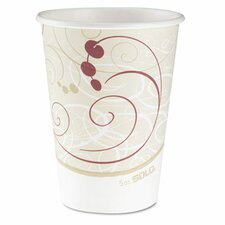 Company Symphony Design Hot Cups, 12 Oz.