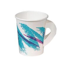 8 Oz Jazz Hot Paper Cups with Handles Jazz Design