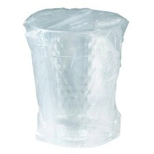 Diamond Tumbler Plastic Individually Wrapped Cups
