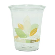 Company Bare Rpet Cold Cups with Leaf Design, 16 Oz., 50/Pack