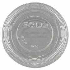 No-Slot Plastic Cup Lids (Set of 2500)