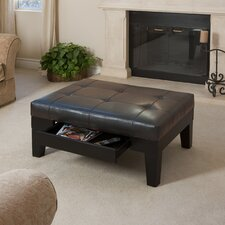 <strong>dCOR design</strong> Chatham Leather Cocktail Ottoman