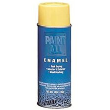 Paint-All™ Fast-Dry Enamel Paints - 16-oz. flat white paintall fast dry en