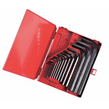 18Pc Hex Key Set Boxed