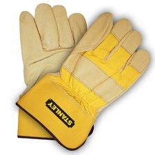 Premium Grain Pigskin Leather Palm Gloves