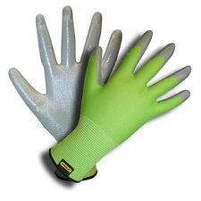 Ladies Nylon Shell Gloves with Nitrile Coating