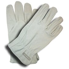 Unlined Grain Pigskin Driver Gloves