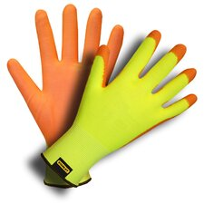 Hi-Vis Nylon Shell Gloves with Polyurethane Coating