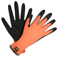 Hi-Vis Latex Coated Gloves