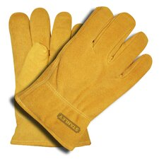Pile Lined Standard Split Cowhide Driver Gloves