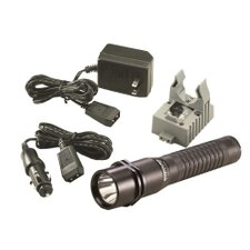 Strion LED Flashlight w/ 120V AC/DC 1 Holder
