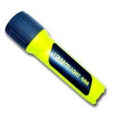Propolymer 4AA Blue LED Flashlight (Yellow)