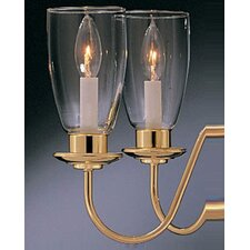 "6.63"" Glass Candelabra Shade"