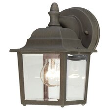 Essentials 1 Light Outdoor Wall Sconce
