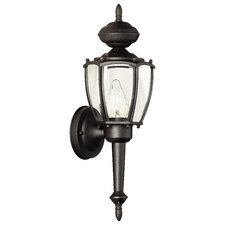 Park Avenue 1 Light Outdoor Wall Sconce