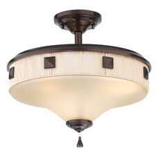 Tux 3 Light Semi Flush Mount