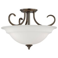 <strong>Thomas Lighting</strong> Bella 3 Light Inverted Pendant