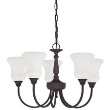 Winston 5 Light Chandelier