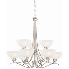 Elaine 9 Light Chandelier