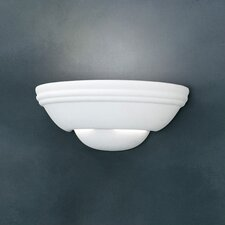 Ceramic 1 Light Wall Sconce
