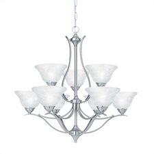 <strong>Thomas Lighting</strong> Prestige 9 Light Chandelier