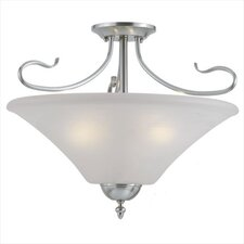 Elipse 3 Light Convertible Pendant or Semi Flush