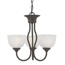 <strong>Thomas Lighting</strong> Tahoe 3 Light Chandelier
