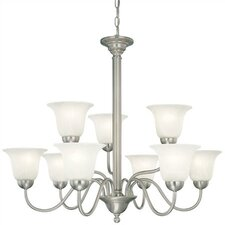 <strong>Thomas Lighting</strong> Riva 9 Light Chandelier