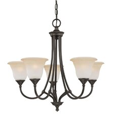 Harmony 5 Light Chandelier