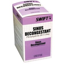 Sinus Decongestant Tablets - sinus decongestant 250/bx