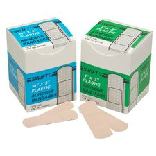 "Adhesive Bandages - 3/4"" x 3"" plastic strips100/bx"