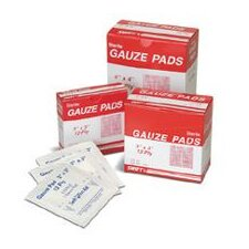 "<strong>Swift First Aid</strong> 2"" X 2"" Sterile Gauze Pads (100 Per Box)"