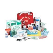 "8"" X 8"" X 7"" Standard Emergency Medical Kit"