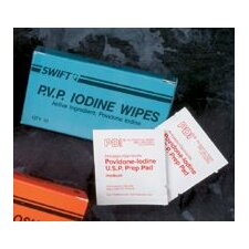 <strong>Swift First Aid</strong> PVP Iodine Wipes (40 Per Box)