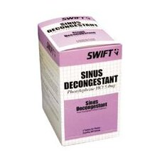 <strong>Swift First Aid</strong> Sinus Decongestant (2 Per Package, 500 Per Box)