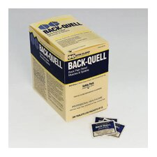 2 Pack Back-Quell Back Pain Relief (150 Packs Per Box, 6 Boxes Per Case)