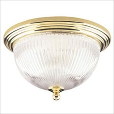 "<strong>Westinghouse Lighting</strong> 7.25"" 2 Light Flush Mount"