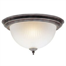 2 Light Dome Flush Mount