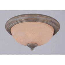 Spring Valley 3 Light Flush Mount