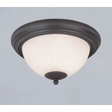 Laurel Springs 2 Light Flush Mount