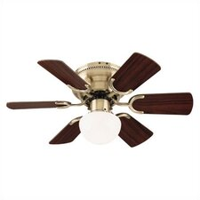 "<strong>Westinghouse Lighting</strong> 30"" Petite 6 Blade Ceiling Fan"