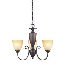 <strong>Westinghouse Lighting</strong> Chapel Hill 3 Light Chandelier